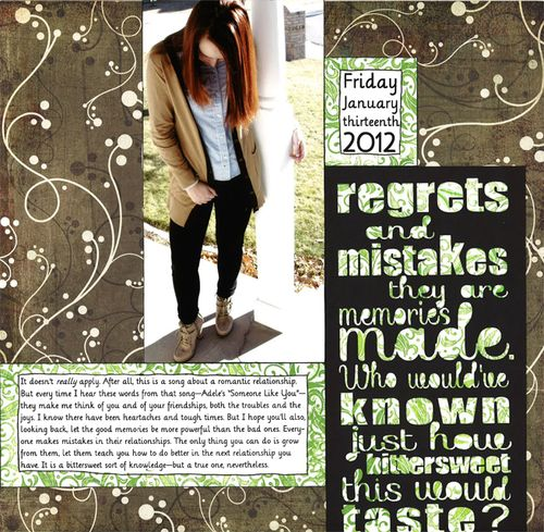Regrets & Mistakes | Amy Sorensen