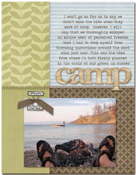 Camp | Cheryl Overton