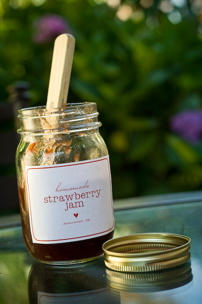 Jam Labels | Sara Winnick