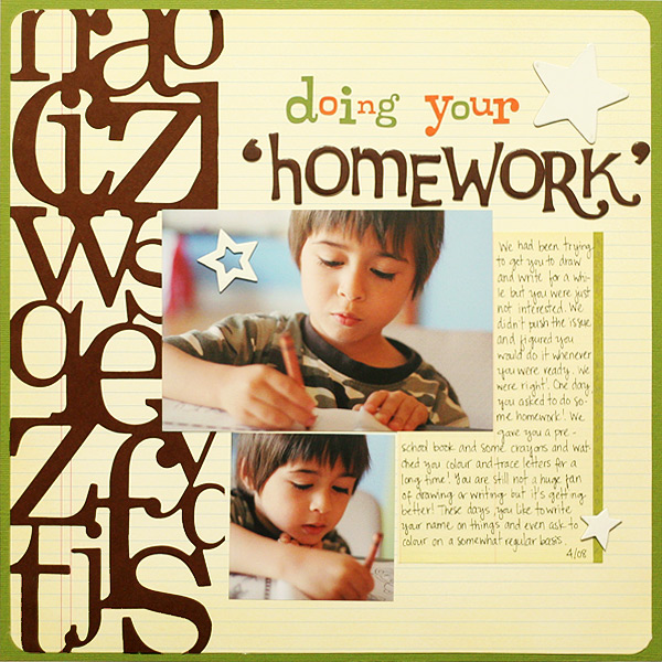 Doing Your 'Homework' | Ann Costen