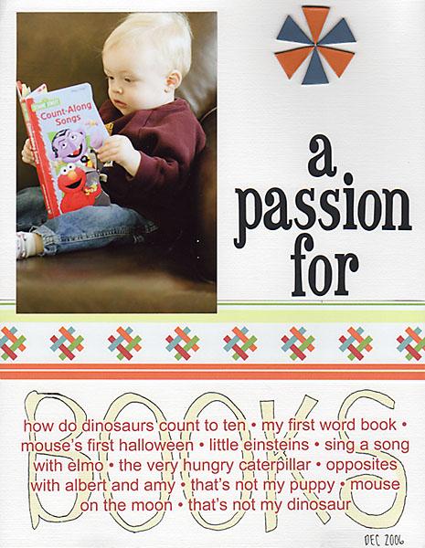 A Passion For Books   Elisha Snow