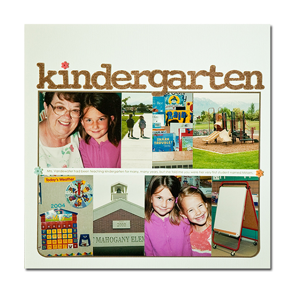 Kindergarten | Kim Morgan