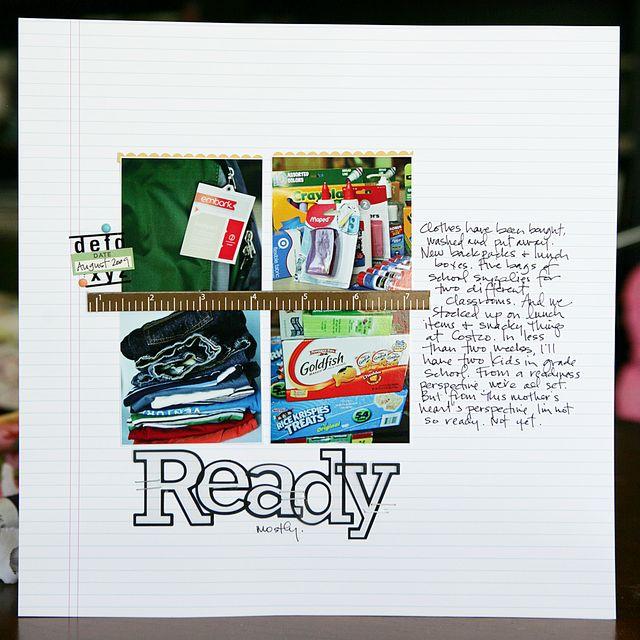 Ready | Tina Cockburn