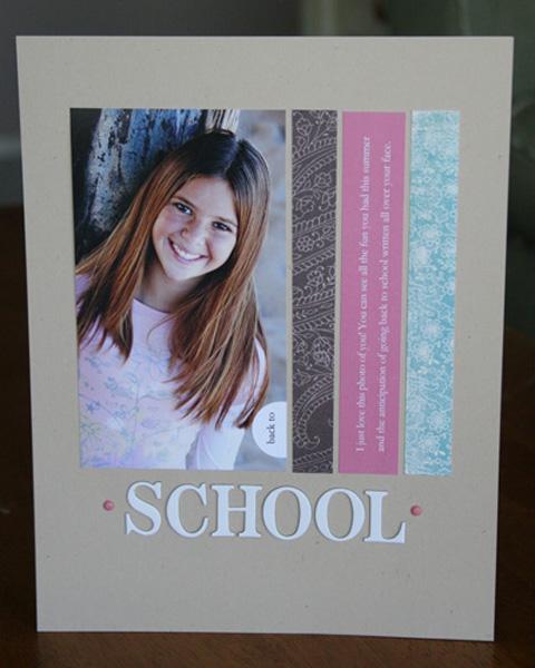 School | Rebecca Cooper