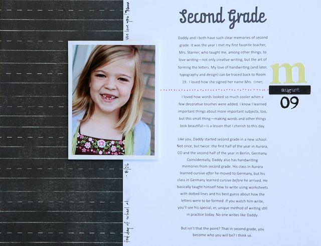 Second Grade | Elizabeth Dillow