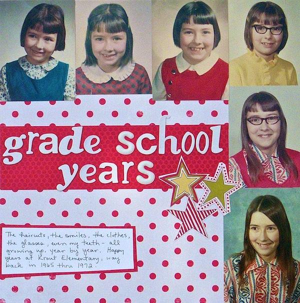 Grade School Years | Sue Althouse