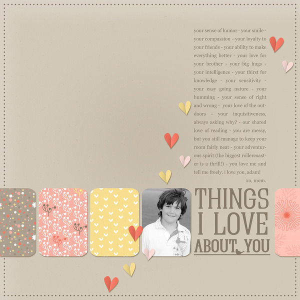 Things I Love About You | Celeste Smith