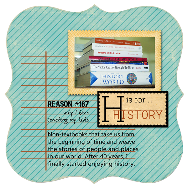 H is for History | Melissa Kaiserman