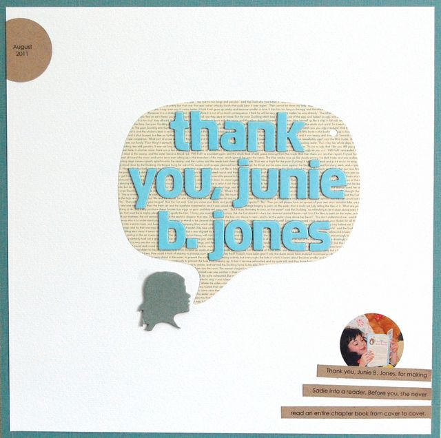Thank You, Junie B. Jones | Vivian Masket