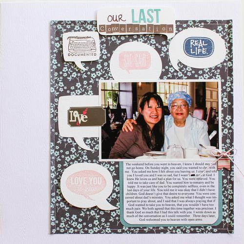 Our Last Conversation   Christine Newman