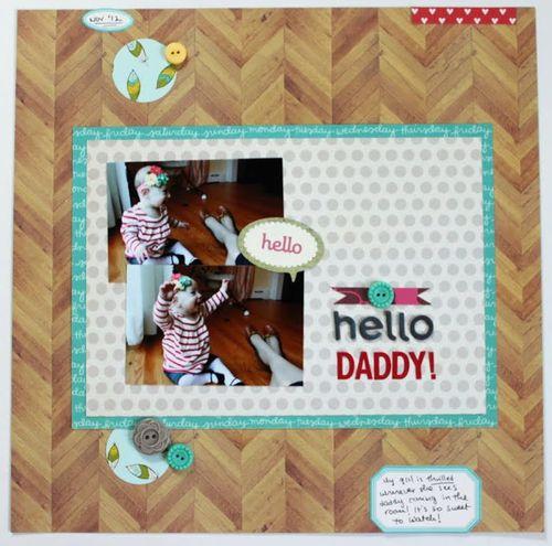 Hello Daddy| Keshet Starr