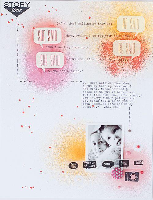He Said, She Said | Valerie O'Neall