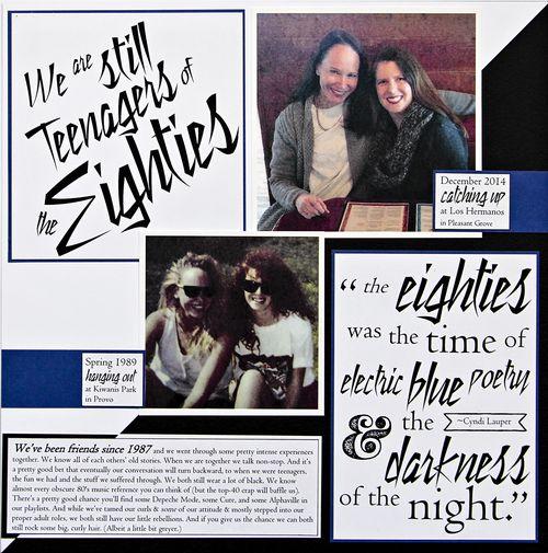 Still Teenagers of the 80s | Amy Sorensen