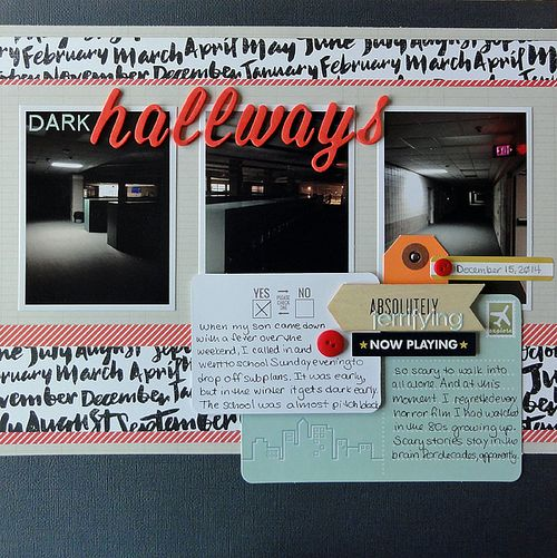 Dark Hallways | Jennifer Larson