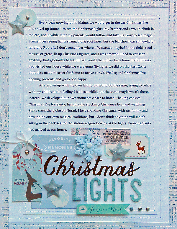 Christmas Lights | Jennifer Larson
