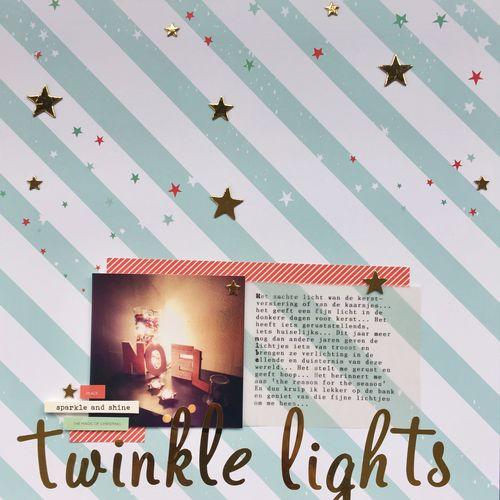 Twinkle Lights</br>by Dee