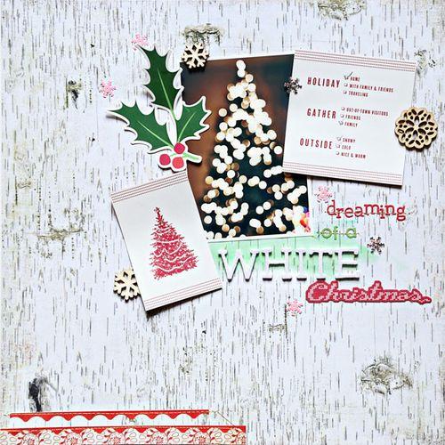 Dreaming of a White Christmas | Cristina C. Scrap