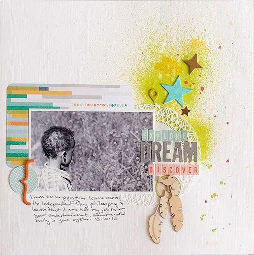 Explore, Dream, Discover | Francine Clouden