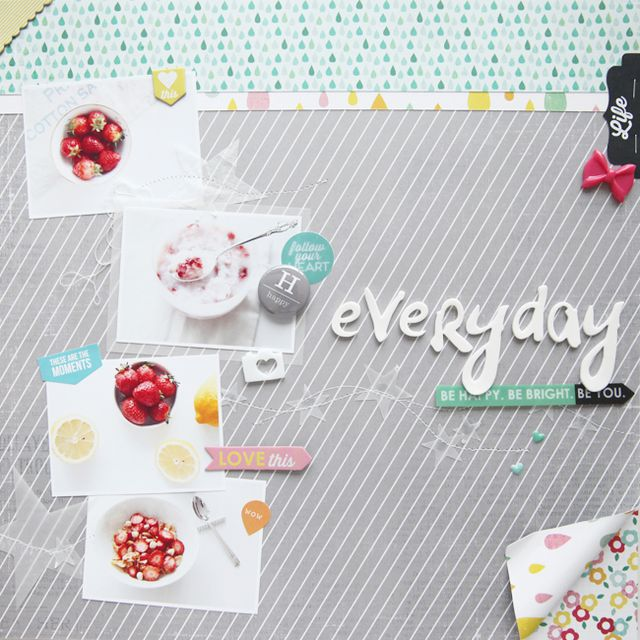 Everyday, Strawberry| Jina Jean