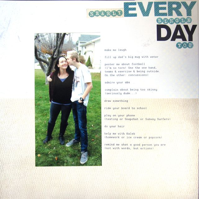 Every Day| Amy Sorensen