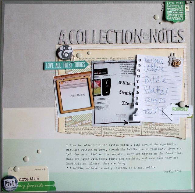 A Collection of Notes   Aliza Deutsch