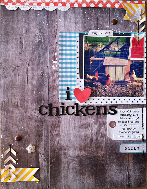 I {heart} Chickens | Kate Christensen