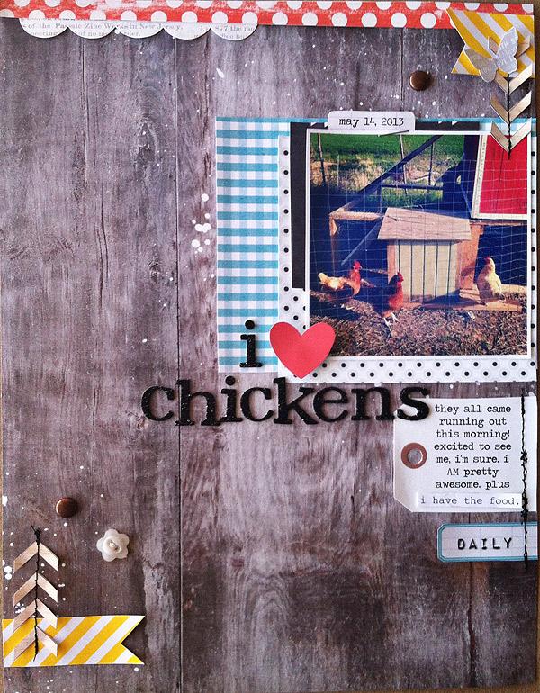 I {heart} Chickens   Kate Christensen
