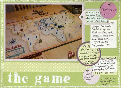 The Game | Carolyn Jolley