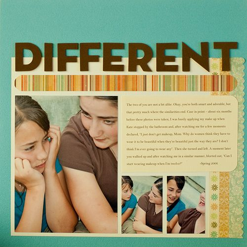 Different | Kim Morgan