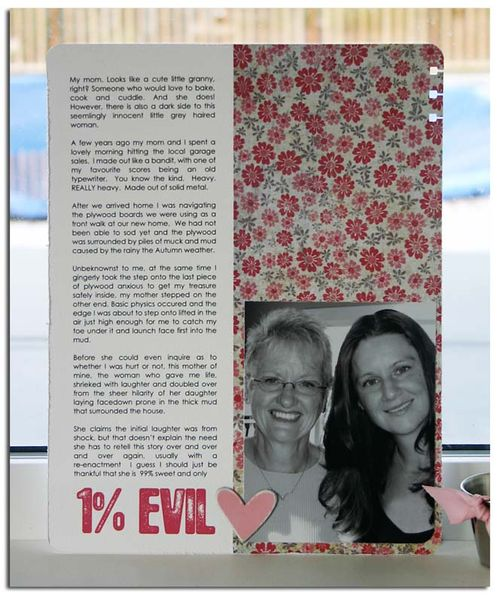 1% Evil | Cheryl Overton