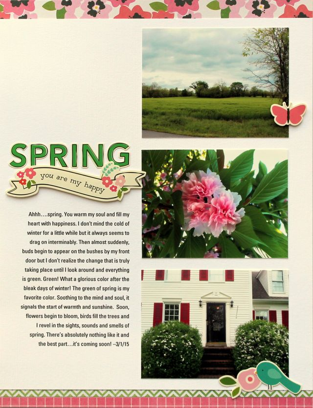 Spring...You Are My Happy   Tracie Claiborne