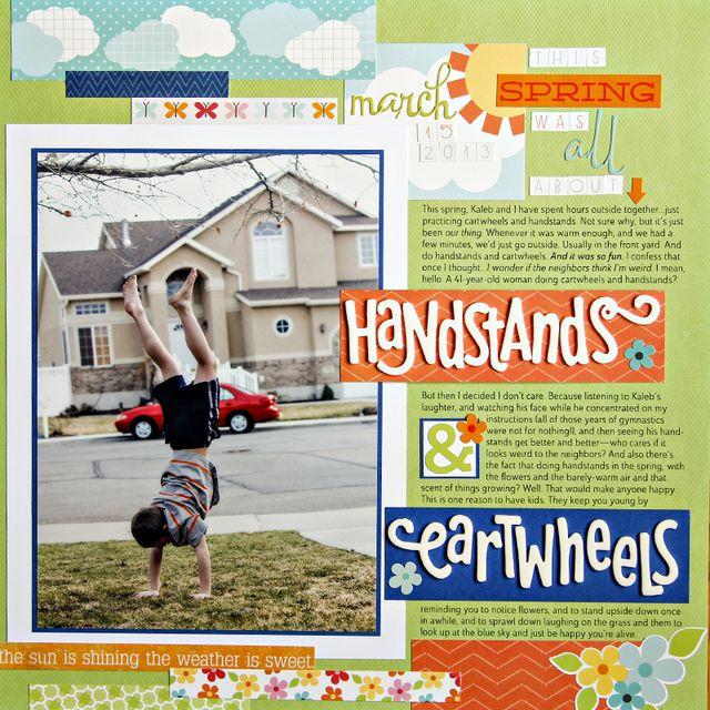 Handstands & Cartwheels   Amy Sorensen