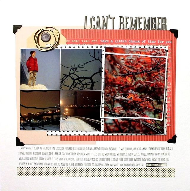 I Can't Remember | Aliza Deutsch