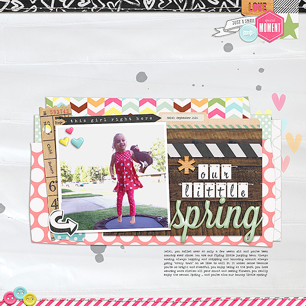 Our Little Spring   Becca Dickson