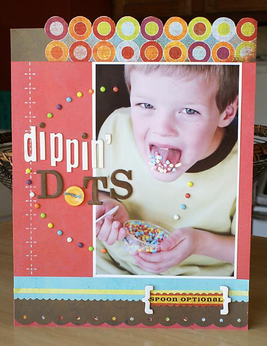 Dippin' Dots | Melissa Kaiserman