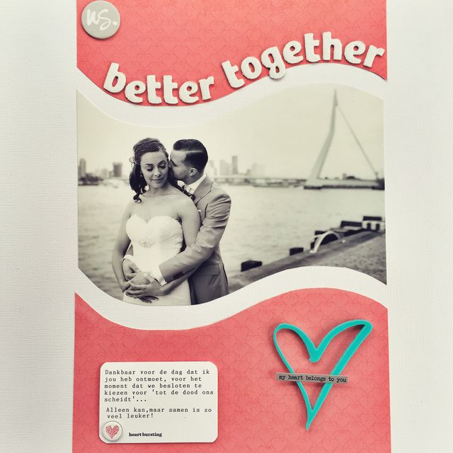 "Better Together</br><span style=""font-size: 8pt;"">by</span> Dee"