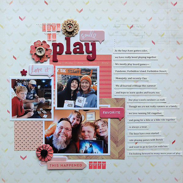 """Love to Play</br><span style=""""font-size: 8pt;"""">by</span> Jenny"""