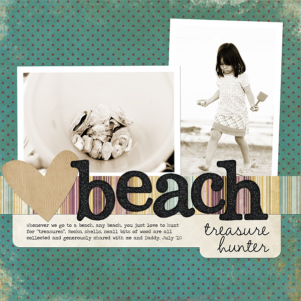 Beach Treasure Hunter | Ann Costen