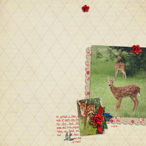 Fawns | Cristina C. Scrap