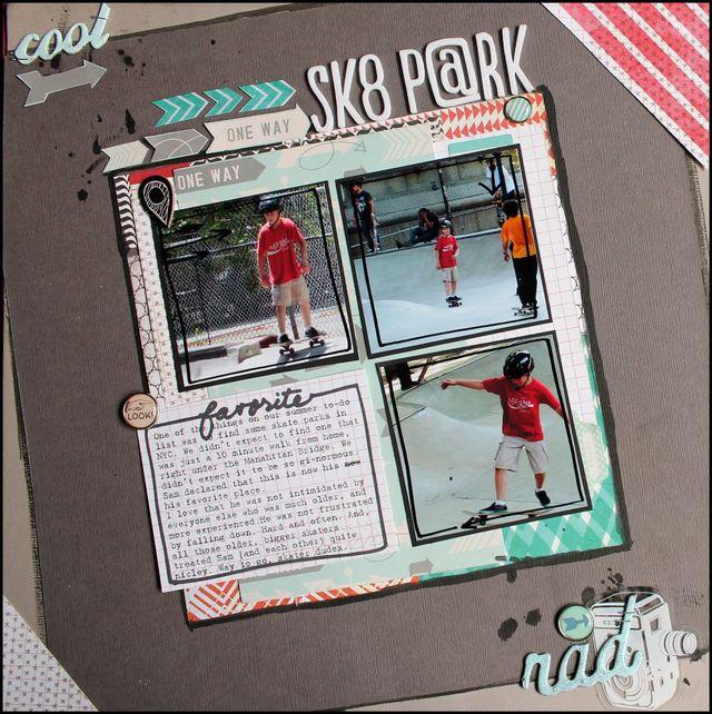 Skate Park | Aliza Deutsch