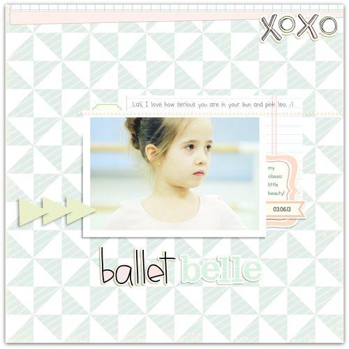 Ballet Belle | Marnie Flores