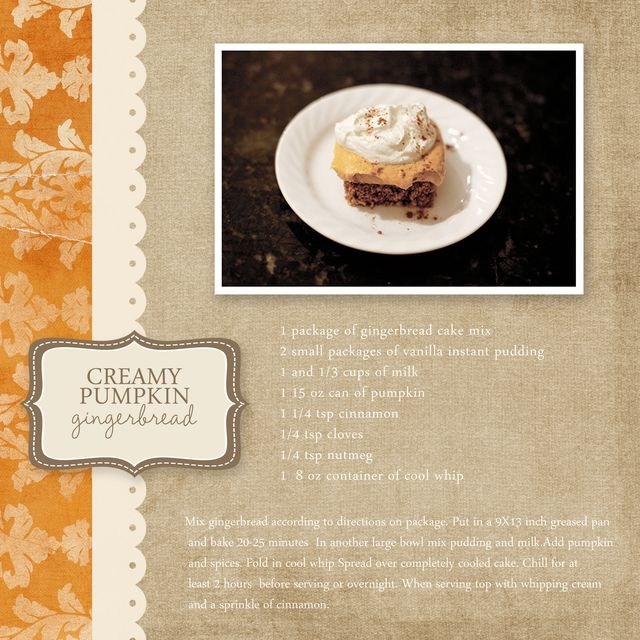 Pumpkin Gingerbread | Rebecca Cooper
