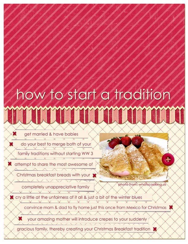 How to Start A Tradition | Cheryl Overton