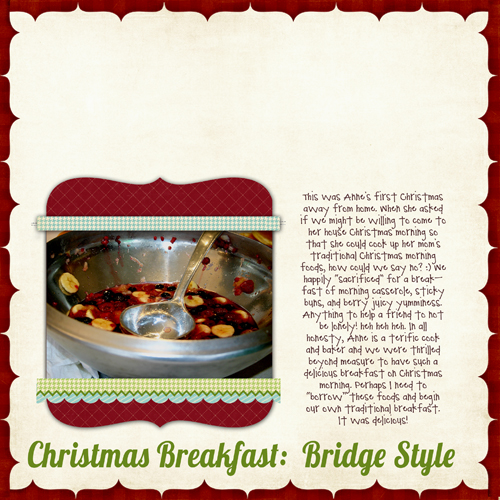 Christmas Breakfast | Marnie Flores