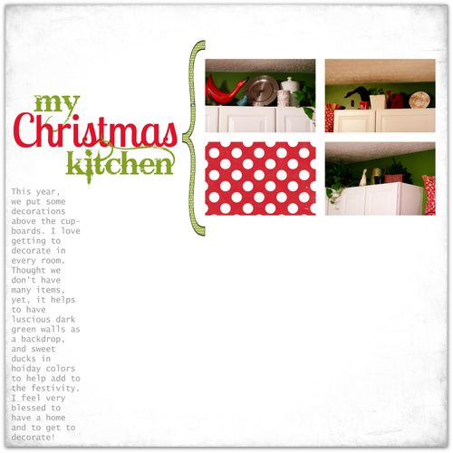 My Christmas Kitchen | Marnie Flores