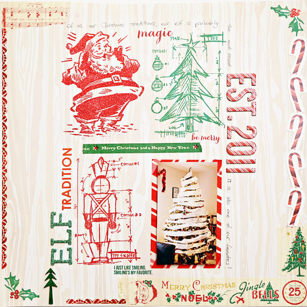 Elf Tradition | Cristina C. Scrap
