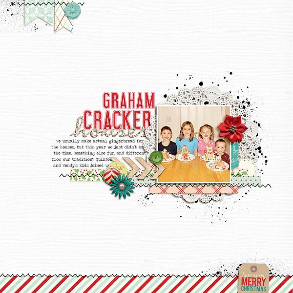 Graham Cracker Houses | Kate Christensen