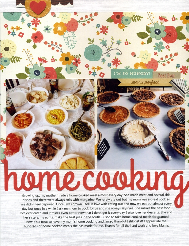 home cooking</br>by Tracie Claiborne
