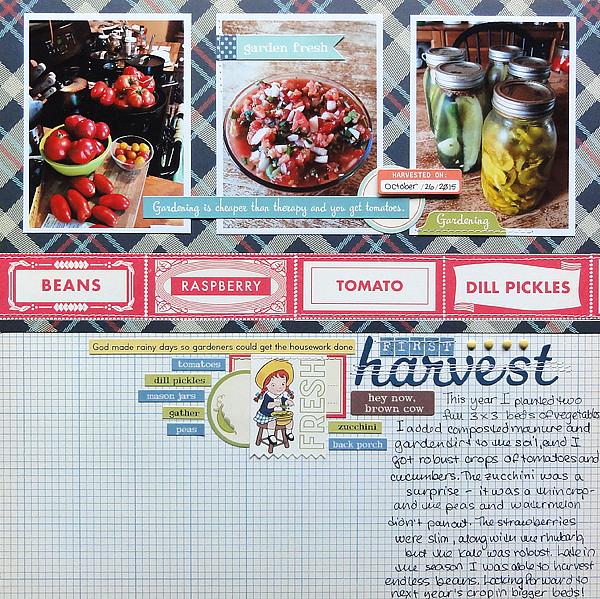 "First Harvest</br><span style=""font-size: 8pt;"">by</span> Jenny Larson"
