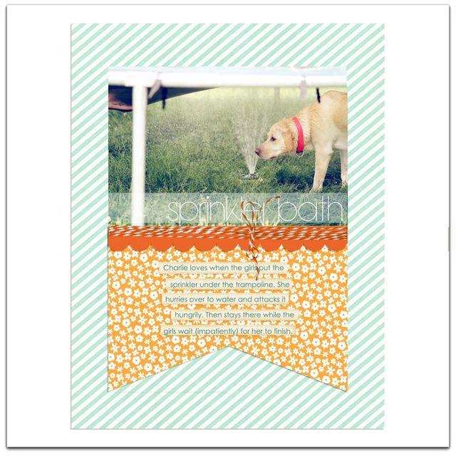 Sprinkler Dog | Marnie Flores